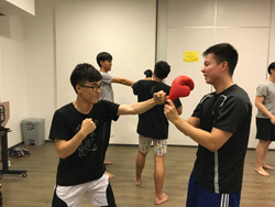 2018-19 Thai Boxing for Beginners